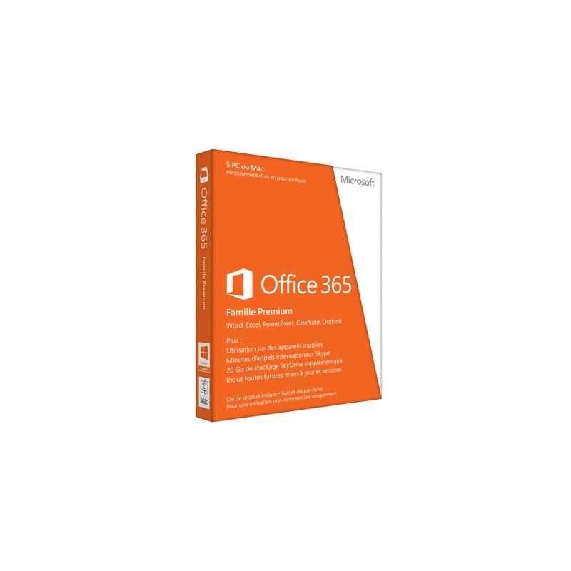 MICROSOFT - Office 365 Famille Premium 5 PC prix tunisie