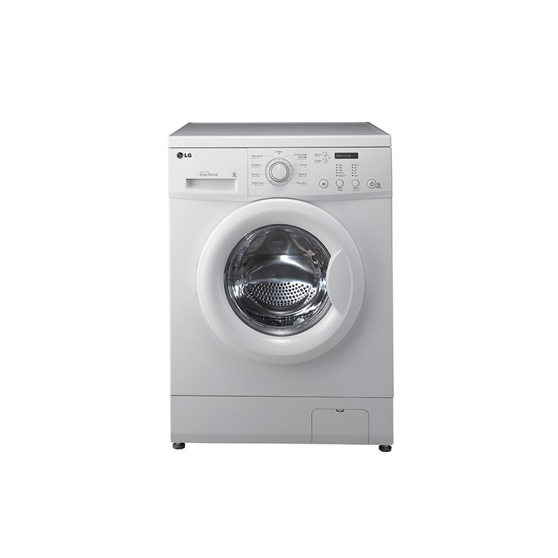 lg machine laver automatique 7kg blanc au meilleur prix en tunisie sur. Black Bedroom Furniture Sets. Home Design Ideas