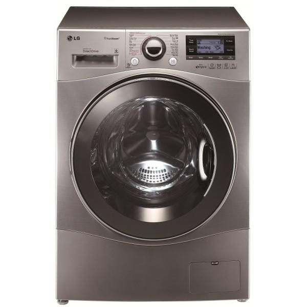 LG - Machine à laver Automatique 6 Motion 10.5Kg - Silver prix tunisie