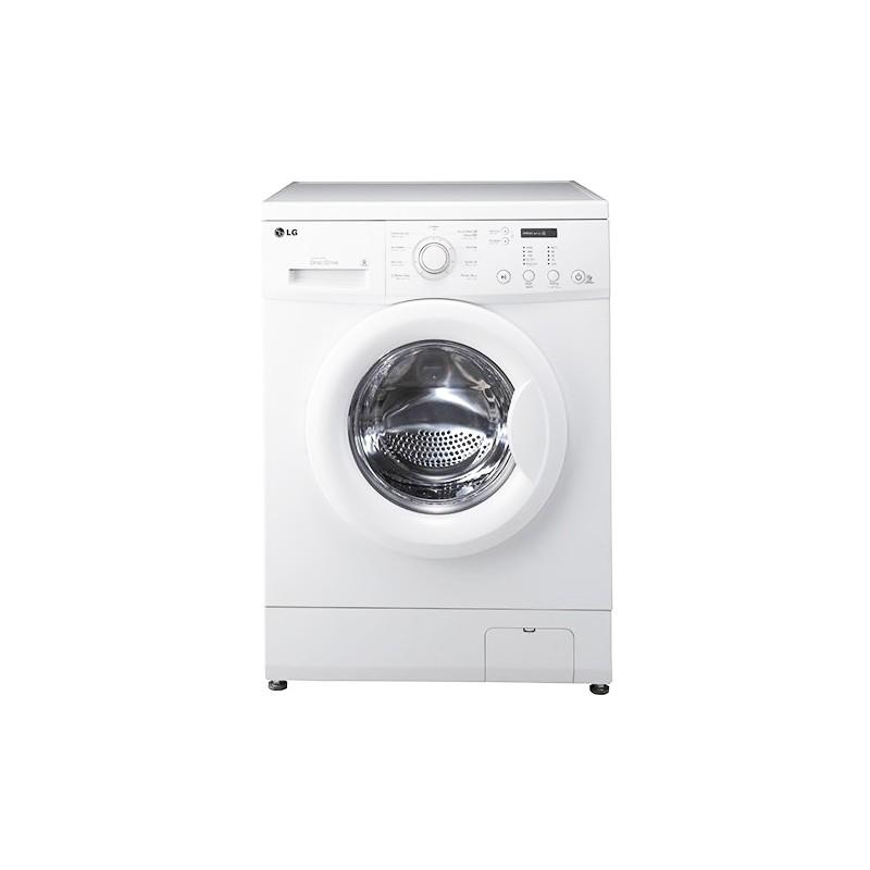 LG - Machine à laver Automatique FH0C3LDP 6 Motion 5Kg Blanc prix tunisie
