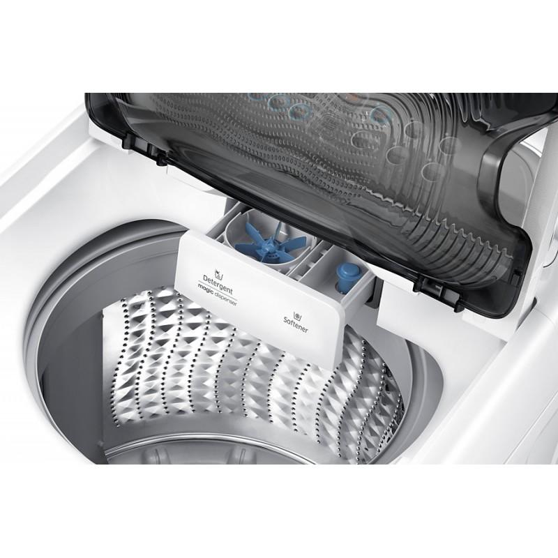 SAMSUNG - Machine à laver WA13J5730SW Top Dual wash 13kg BLANC prix tunisie