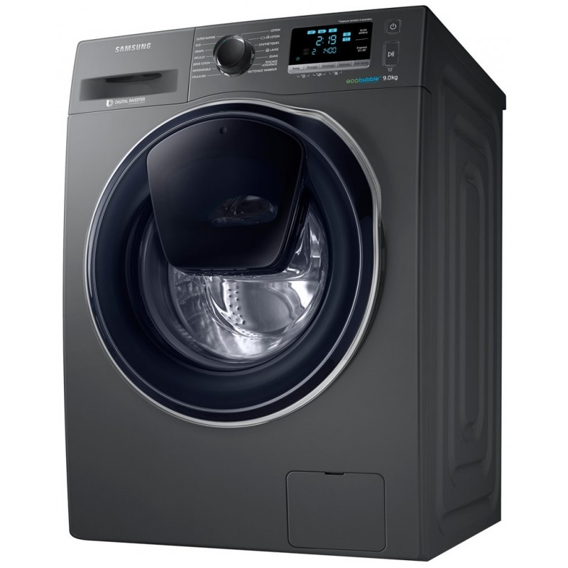SAMSUNG - Machine à laver Frontale Add Wash 9Kg Inox WW90K6410QX prix tunisie