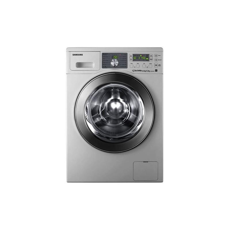 SAMSUNG - Machine à laver Automatique Eco Bubble, 8Kg Silver - WD0804S8E prix tunisie