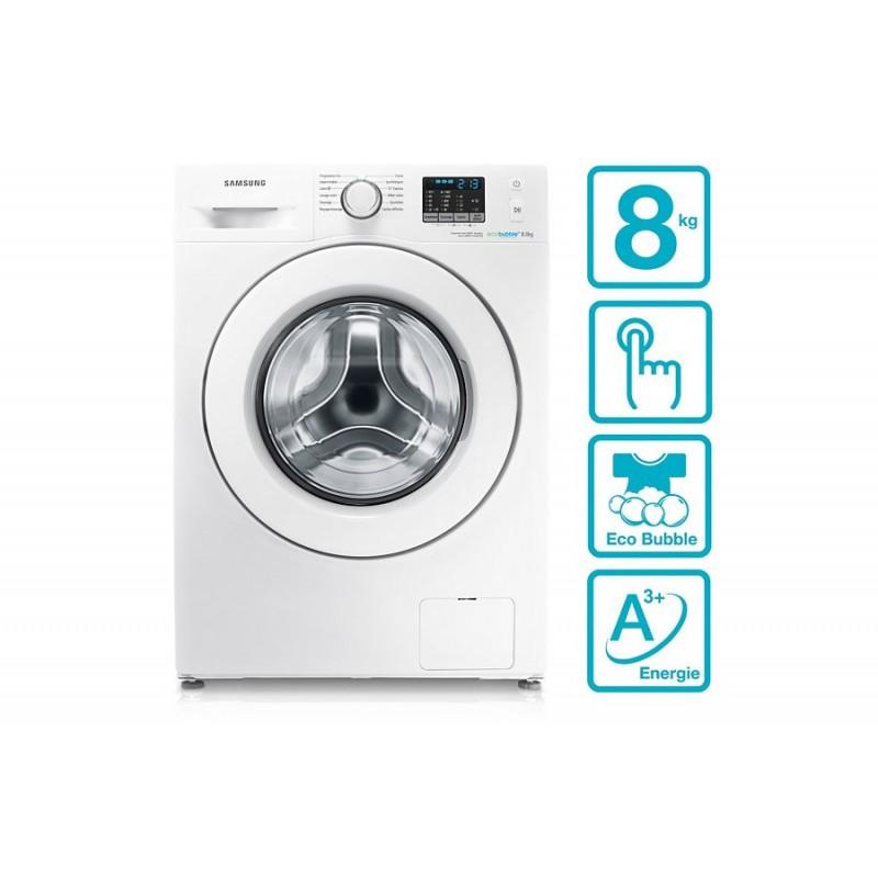SAMSUNG - Machine à laver WF80F5E0W4W 8KG Blanc prix tunisie