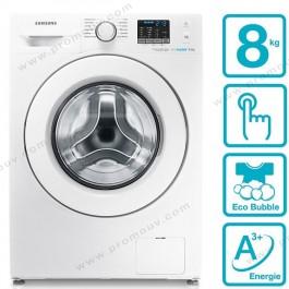 SAMSUNG - Machine à laver WF80F5EHW4W 8Kg prix tunisie