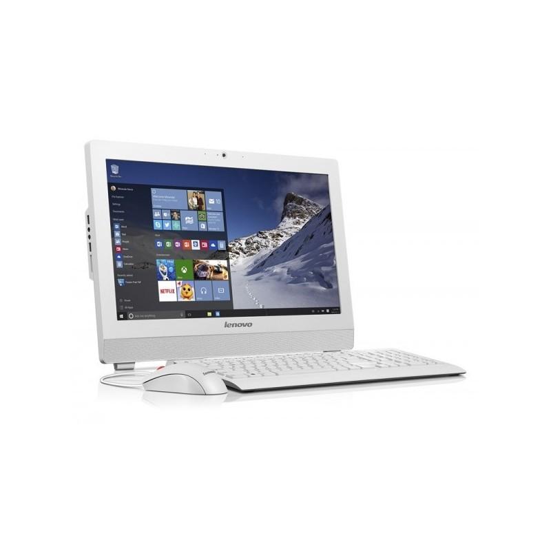 LENOVO - PC DE BUREAU ALL IN ONE S200Z QUAD-CORE 4GO 500GO BLANC prix tunisie
