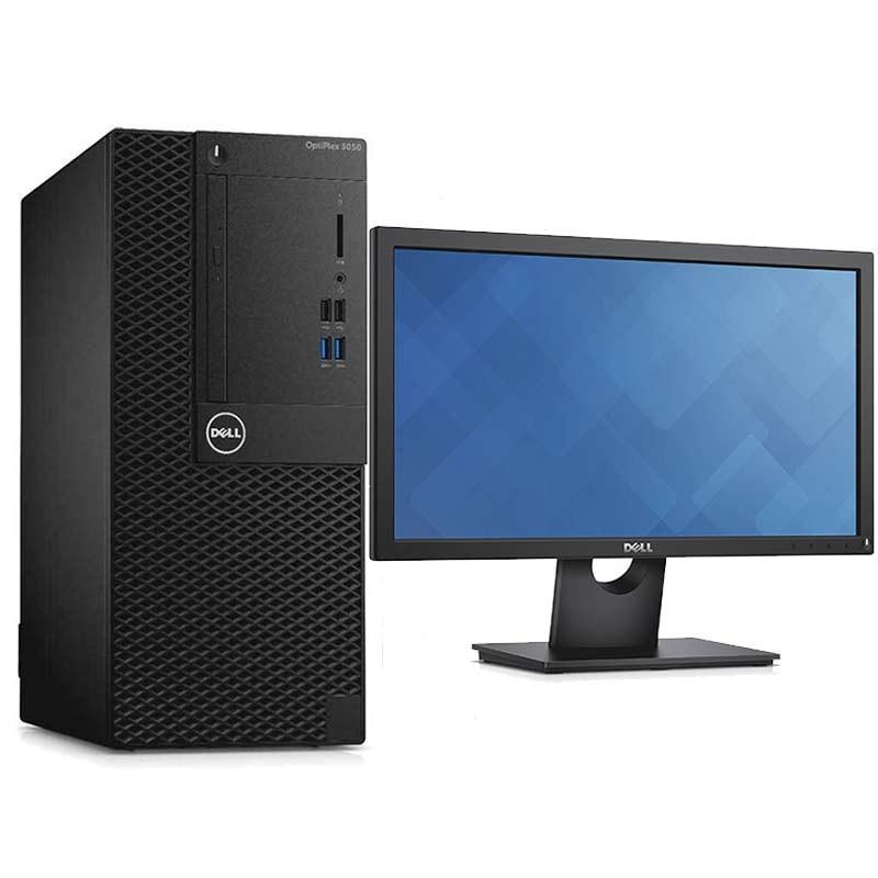 DELL - PC DE BUREAU OPTIPLEX 3050 MT I3 7é GéN 4GO 500GO + ECRAN prix tunisie