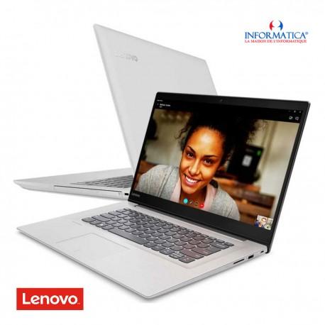 LENOVO - PC PORTABLE IDEAPAD 320 I5 7è GéN 4GO 1TO 320-15IKBN : BLANC prix tunisie
