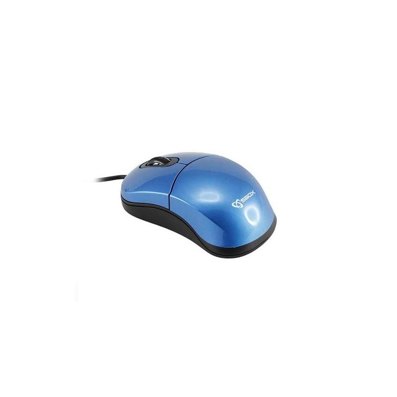 SBOX - Souris optique M-900B 3D - Bleu prix tunisie