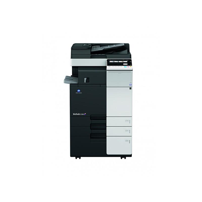 KONICA MINOLTA - Photocopieur Multifonction 4en1 MINOLTA BHC308 Couleur prix tunisie