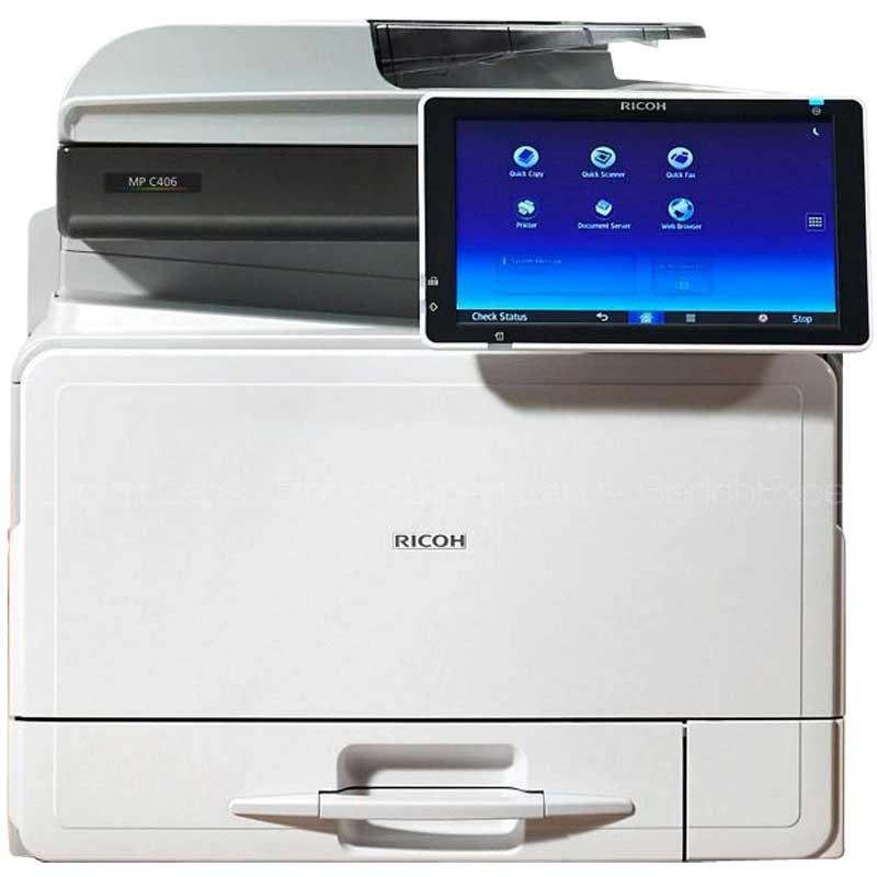 RICOH - Photocopieur MP C306ZSPF 4 En 1 - Réseau prix tunisie