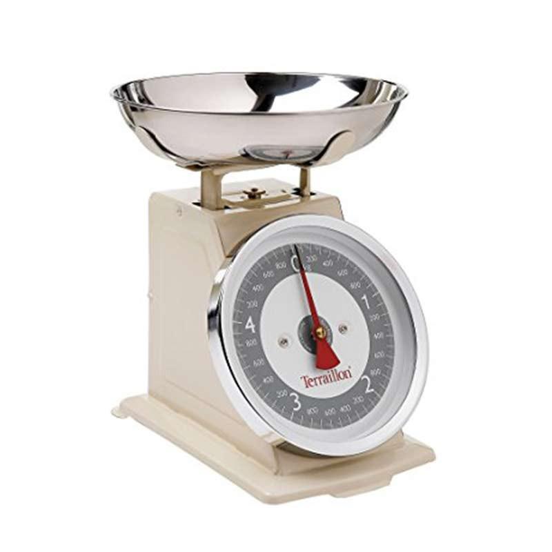 Terraillon balance de cuisine tradition 500 pmm 5kg for Prix balance de cuisine