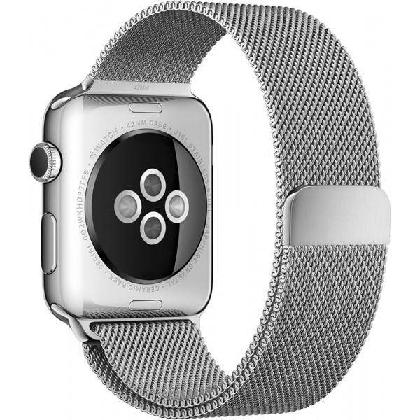 Apple iWatch 42MM - Argent 3