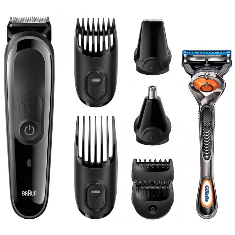 BRAUN - Kit tondeuse visage et cheveux 8-en-1 MGK3060 prix tunisie