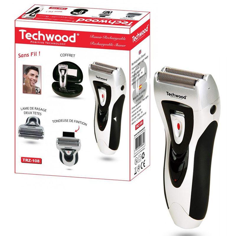 Techwood - RASOIR TRZ-108 RECHARGEABLE - BLANC prix tunisie