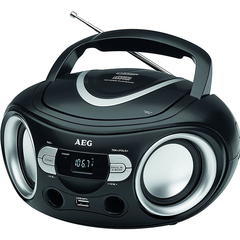 AEG - RADIO CD- MP3 PORTABLE USB - SR-4374 prix tunisie