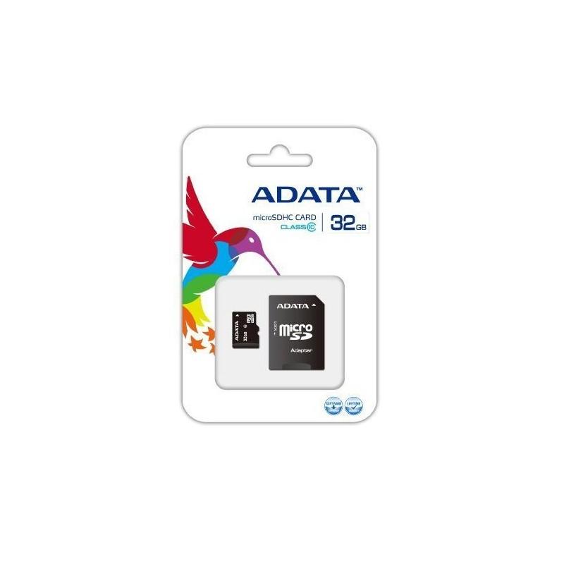 ADATA - MICRO SDHC 32GB CLASS 10 avec Adaptateur prix tunisie