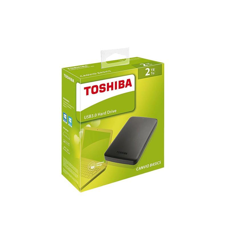 TOSHIBA - Disque dur externe canvio basics 2.5