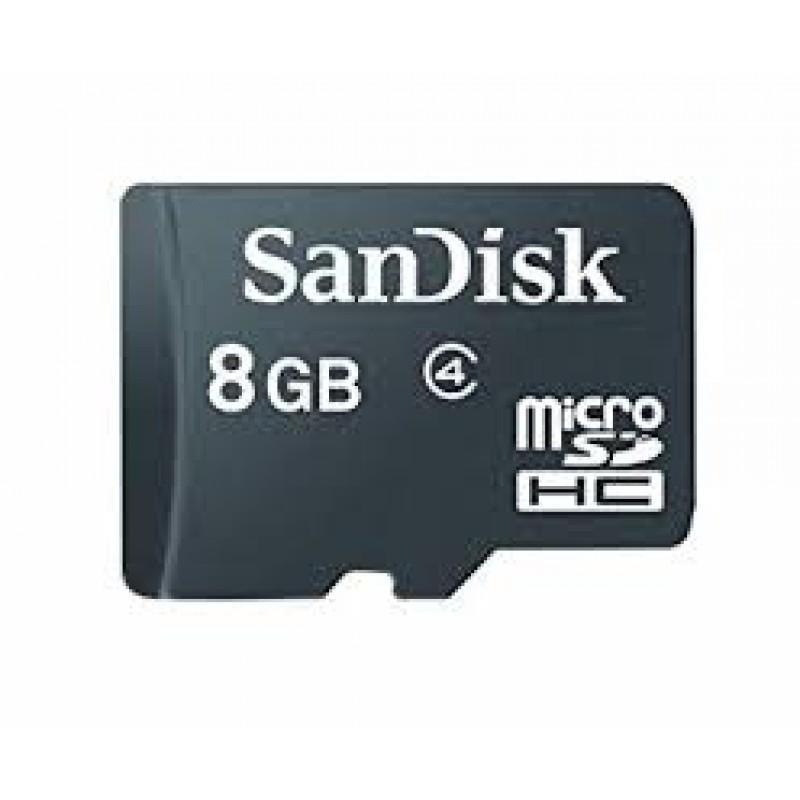 SANDISK - MICRO SD 8GB SANS ADAPTATEUR SDSDQM008GB-S prix tunisie