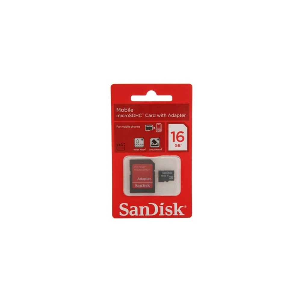SANDISK - CARTE MéMOIRE 16GO SXAC-16GB prix tunisie