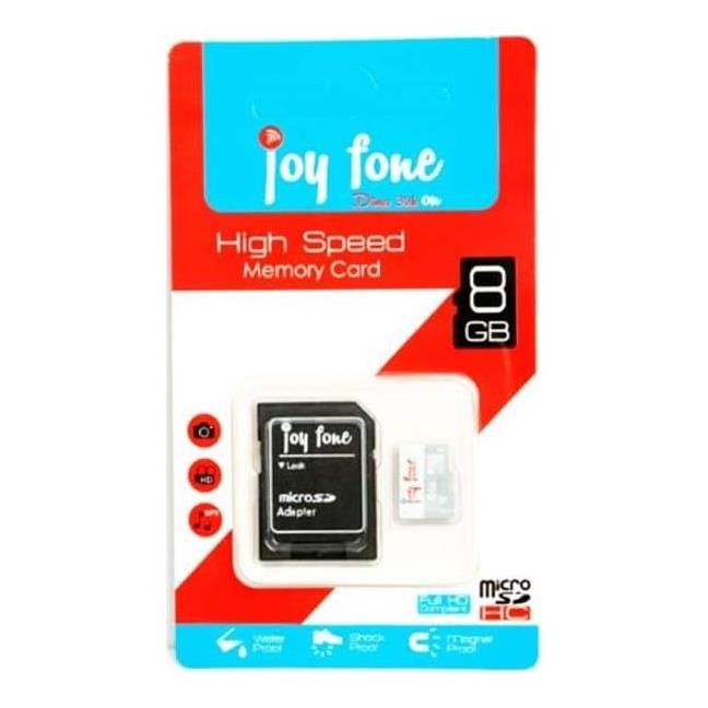 joyfone - CARTE MéMOIRE MICROSD 8 GO CLASS10 AVEC ADAPTATEUR prix tunisie