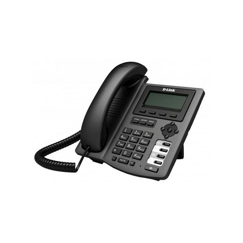 D-LINK - Téléphone IP DPH-150SE/B/F4 1Port 10/100Mbps PoE prix tunisie