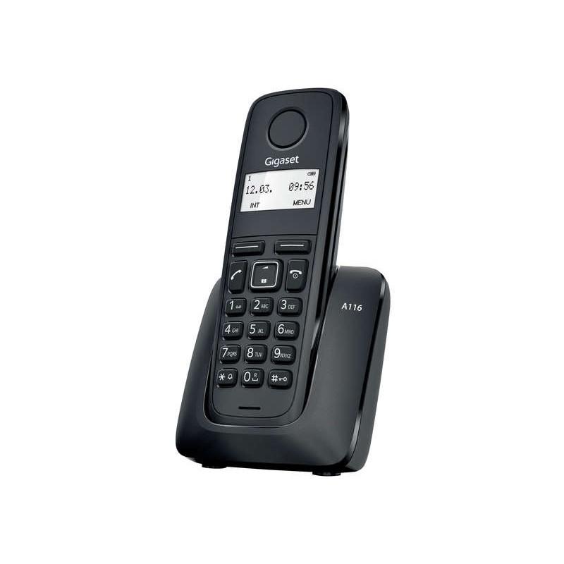 GIGASET - Téléphone fixe sans fil A116 sans répondeur prix tunisie