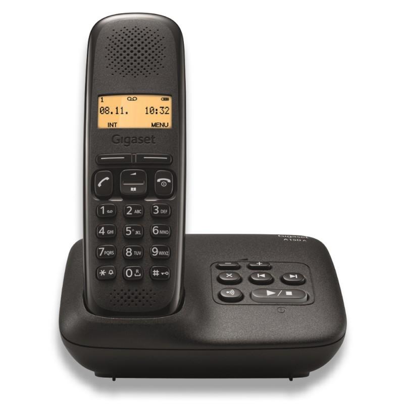 GIGASET - Téléphone fixe sans fil A150A avec répondeur prix tunisie