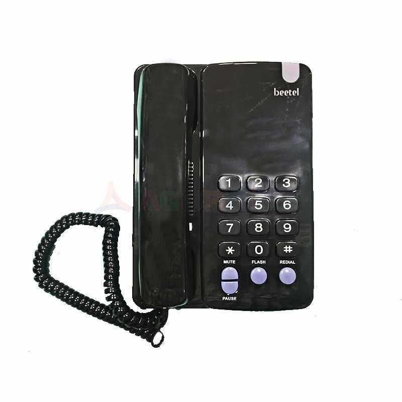 Beetel - TéLéPHONE FIX FILAIRE CORAL - NOIR prix tunisie