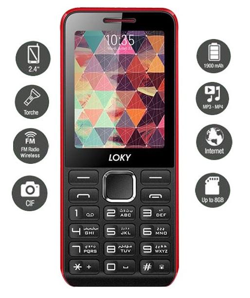 LOKY - Téléphone Portable STARK F60 prix tunisie