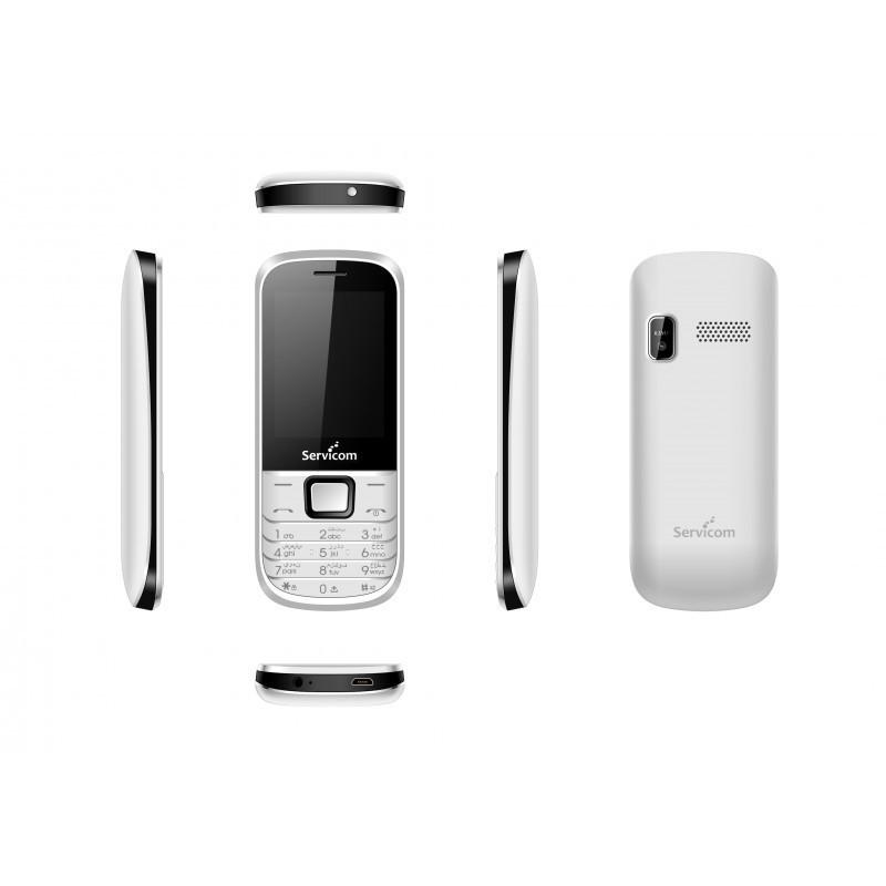 Servicom Téléphone Portable EASY LARGE 2