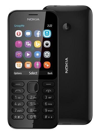 NOKIA Téléphone Portable 222 Double SIM 2