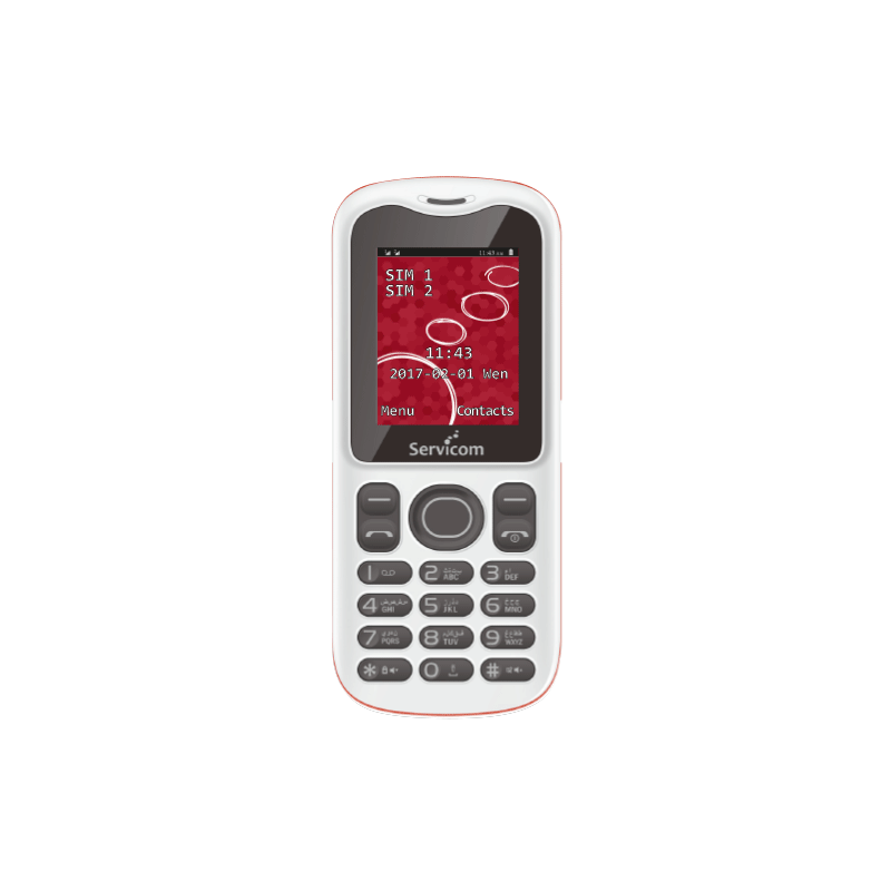 Servicom - Easy III Double SIM prix tunisie