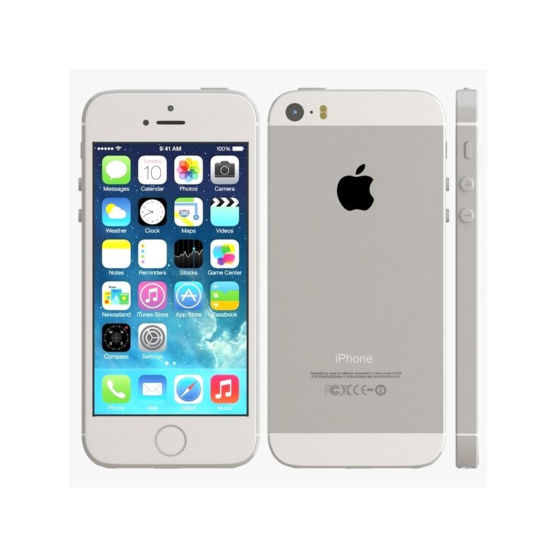 apple iphone 5s 16go silver au meilleur prix en tunisie. Black Bedroom Furniture Sets. Home Design Ideas