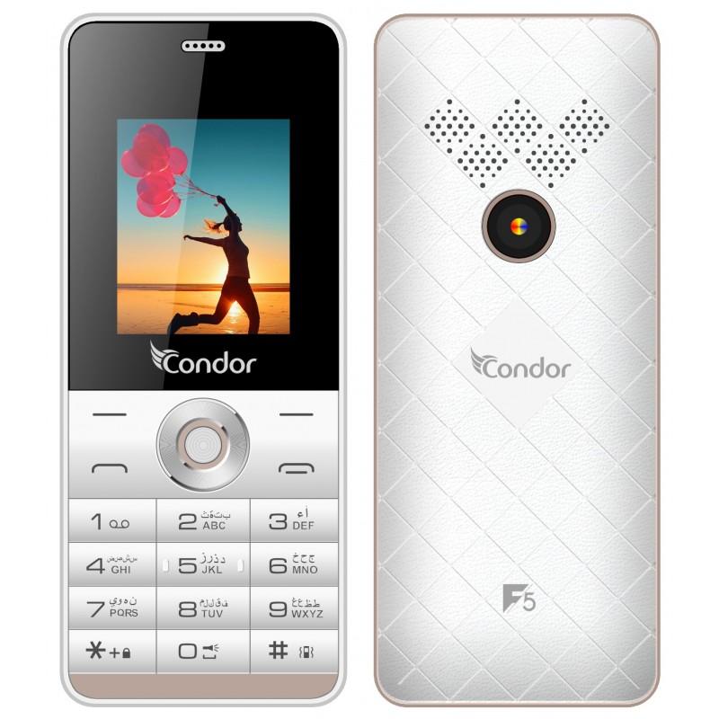 Condor - TéLéPHONE PORTABLE F5 / DOUBLE SIM prix tunisie