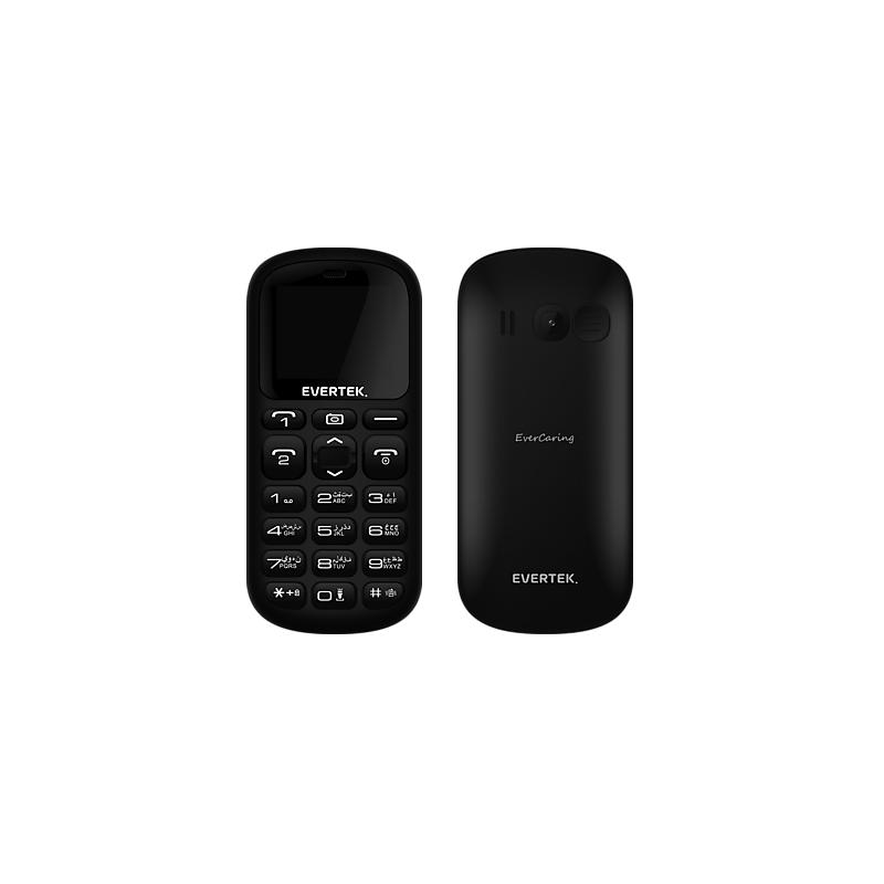 Evertek - TéLéPHONE PORTABLE EVERCARING S2 / DOUBLE SIM prix tunisie