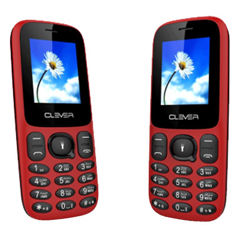 CLEVER - Téléphone portable C3 DOUBLE SIM prix tunisie