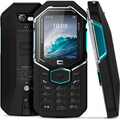 crosscall - TéLéPHONE PORTABLE SHARK-X3 ÉTANCHE NOIR prix tunisie