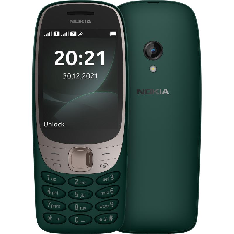 NOKIA - TELEPHONE PORTABLE 6310 / DOUBLE SIM / VERT prix tunisie