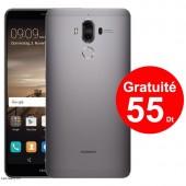 T?l?phone Portable Huawei Mate 9 / 4G / Grey + 1 Mois IPTV Offert