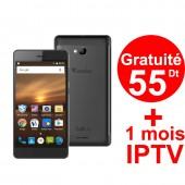 Téléphone Portable Condor Griffe G6 / Double SIM / Noir
