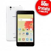 Smartphone CONDOR Plume P6 Plus 4G - Blanc
