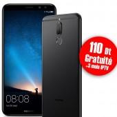 Téléphone Portable Huawei Mate 10 Lite Noir + Gratuité 110 Dt