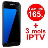 Smartphone Samsung Galaxy S7 Edge Noir + gratuité 165Dt