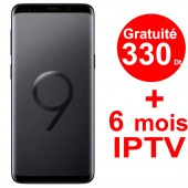 Smartphone SAMSUNG Galaxy S9 Noir + Gratuité 330 Dt