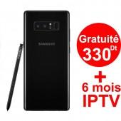 Smartphone SAMSUNG Galaxy Note 8 BLACK + Gratuité 330 Dt